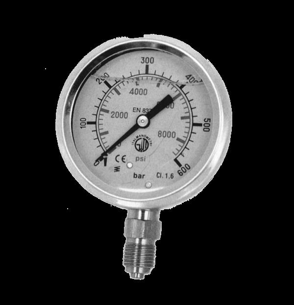 MANOMETRO M635RL radiale diametro 63